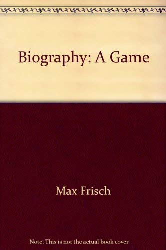 9780809030347: Biography: a game (A Spotlight dramabook)