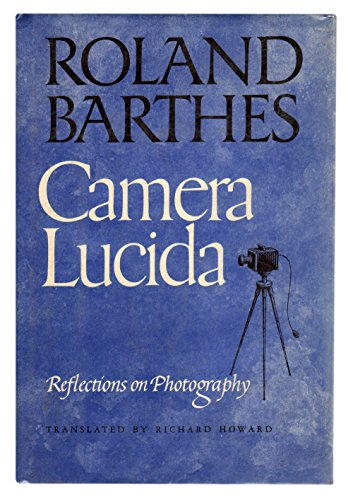 9780809033409: Camera lucida: Reflections on photography