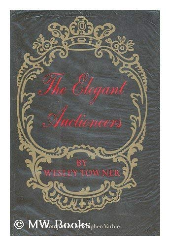 9780809041718: The Elegant Auctioneers