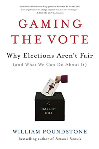 9780809048922: Gaming the Vote: Why Elections Aren't Fair (and What We Can Do about It)