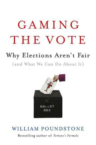 9780809048939: Gaming the Vote: Why Elections Aren't Fair (and What We Can Do about It)