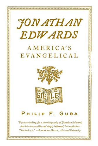 9780809061969: Jonathan Edwards: America's Evangelical (American Portrait (Hill and Wang))