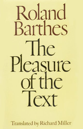9780809077229: The pleasure of the text