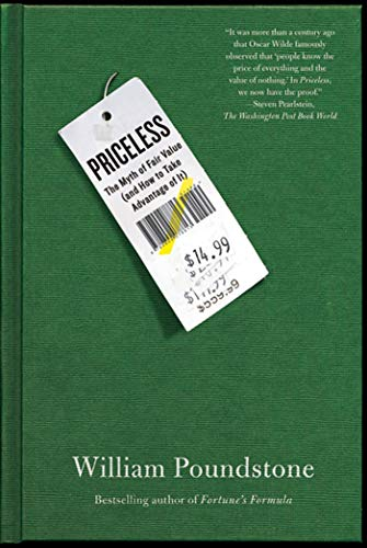 9780809078813: Priceless: The Myth of Fair Value (and How to Take Advantage of It)