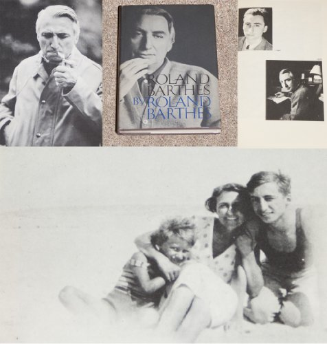 9780809082452: Roland Barthes by Roland Barthes