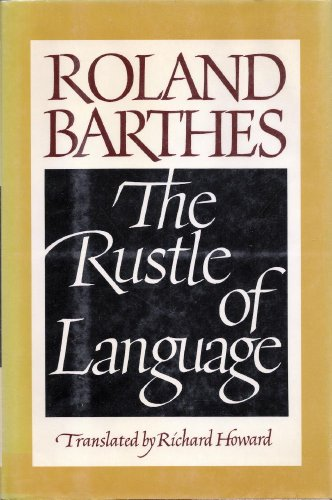 9780809083442: The Rustle of Language