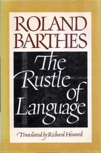 9780809083442: The Rustle of Language