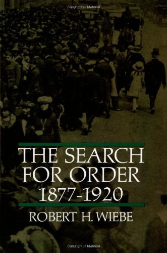 9780809085101: Search for Order 1877-1920