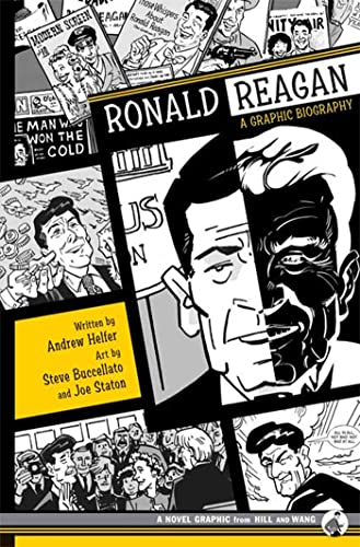 Ronald Reagan: A Graphic Biography: Helfer, Andrew