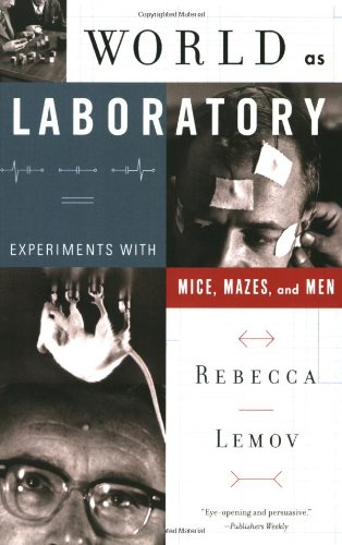 9780809098118: World as Laboratory: Experiments with Mice, Mazes, and Men