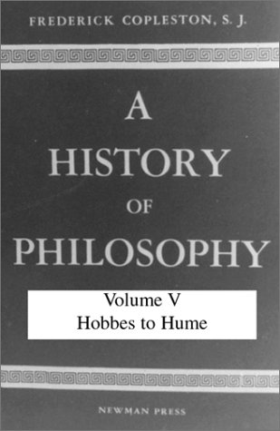 9780809100699: History of Philosophy, Volume V: Hobbes to Hume