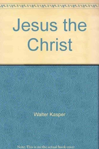 9780809102112: Jesus the Christ