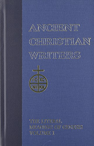 9780809103263: 41. St. Augustine, Vol. 1: The Literal Meaning of Genesis (Ancient Christian Writers)