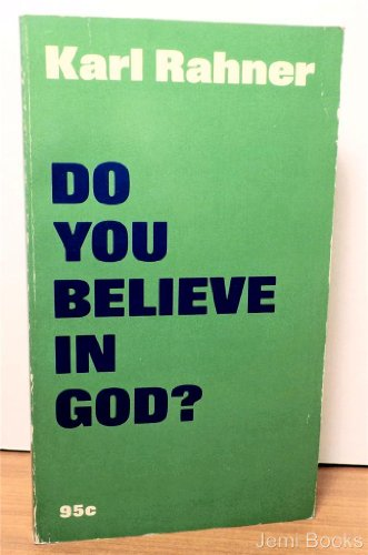 9780809115501: Do You Believe in God?