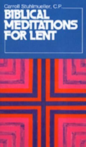 9780809120895: Biblical Meditations for Lent