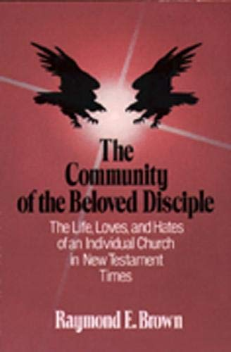 9780809121748: The Community of the Beloved Disciple: The Life, Loves and Hates of an Individual Church in New Testament Times