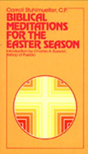 9780809122837: Biblical Meditations for the Easter Season