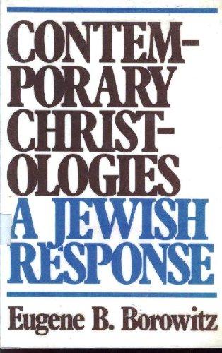 9780809123056: Contemporary Christologies: A Jewish Response
