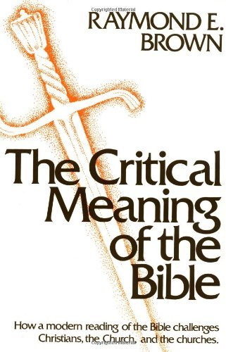 9780809124060: The Critical Meaning of the Bible