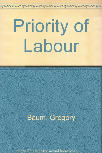 Priority of Labor (9780809124794) by Baum, Gregory