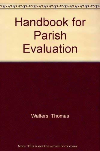 9780809125876: Handbook for Parish Evaluation