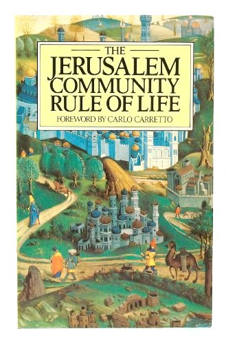 9780809127122: Jerusalem Community: Rule of Life