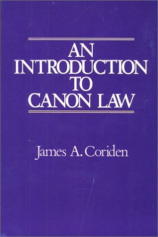 9780809132317: An Introduction to Canon Law