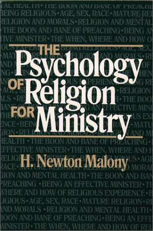 9780809134830: The Psychology of Religion for Ministry (Integration Books)