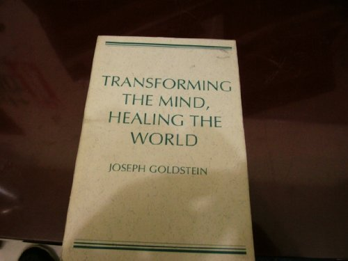 9780809134847: Transforming the Mind, Healing the World (Wit Lectures)