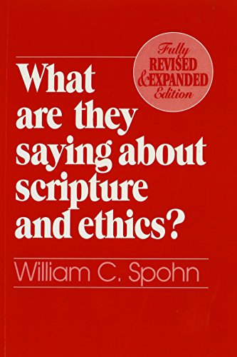 9780809136094: What Are They Saying About Scripture and Ethics? (Fully Revised and Expanded Edition)