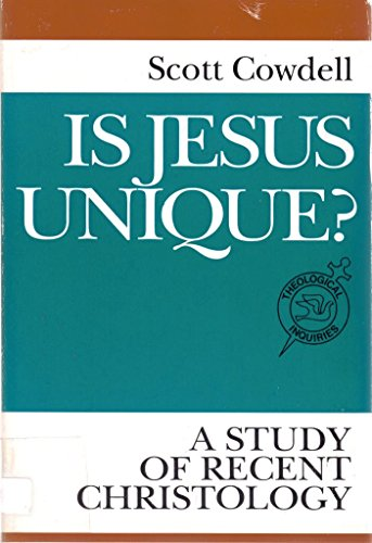 9780809136285: Is Jesus Unique?: A Study of Recent Christology (Theological Inquiries)