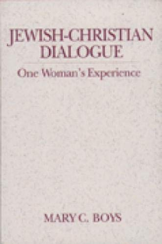 9780809137381: Jewish-Christian Dialogue: One Woman's Experience (Madeleva Lecture in Spirituality)