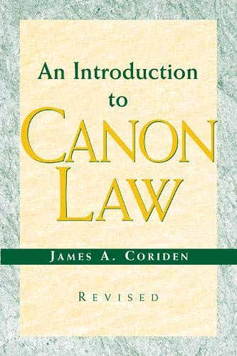 9780809142569: An Introduction to Canon Law