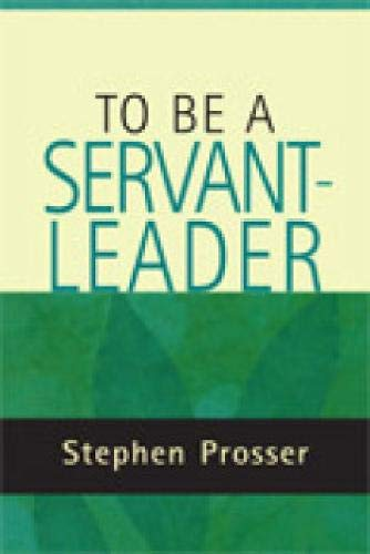 9780809144679: To Be a Servant-Leader