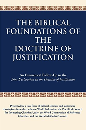 9780809147731: Biblical Foundations of the Doctrine of Justification, The: An Ecumenical Follow-Up to the Joint Declaration on the Doctrine of Justification
