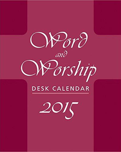 9780809148011: Word and Worship Desk Calendar 2015