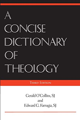 9780809148271: A Concise Dictionary of Theology