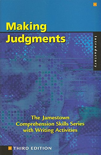 9780809202348: Comprehension Skills: Making Judgements (Introductory)