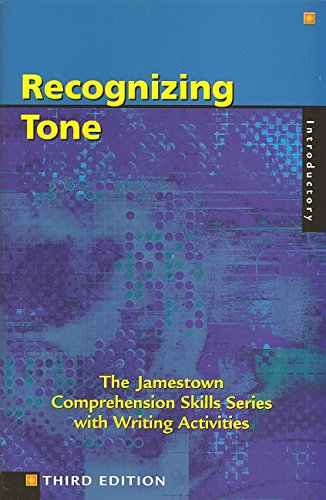 9780809202386: Recognizing Tone: Introductory: With Writing Activities (Comprehension Skills)