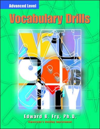 9780809203543: Vocabulary Drills: Advanced (Jamestown's Reading Improvement: Advanced Level)