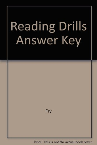 9780809203581: Reading Drills Answer Key