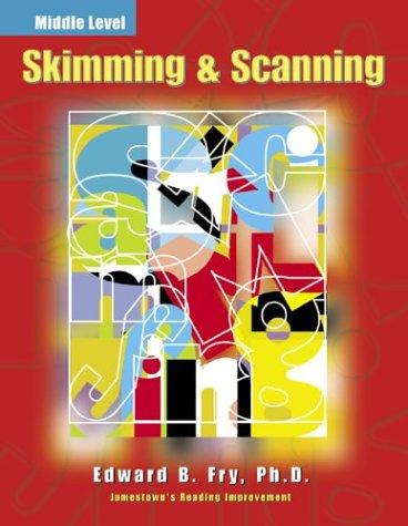 9780809203642: Skimming & Scanning: Middle