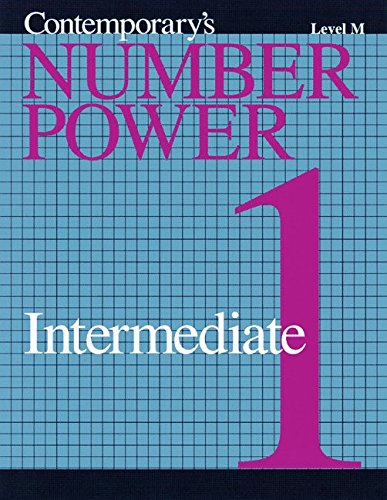 Number Power: Intermediate 1 Level M (0809206102) by Wright Group