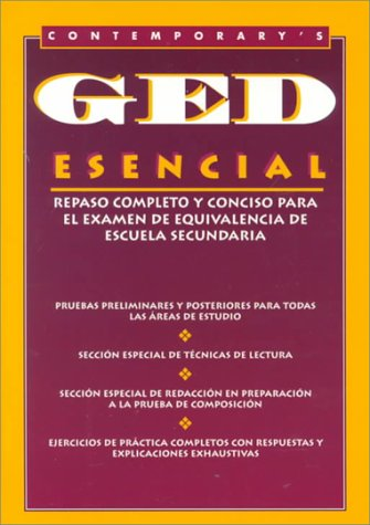 9780809207985: Contemporary's GED Esencial (Spanish Edition)