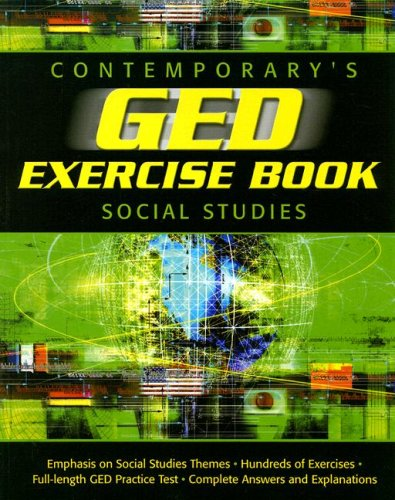 GED Exercise Book: Social Studies (GED Calculators) (0809222345) by Contemporary