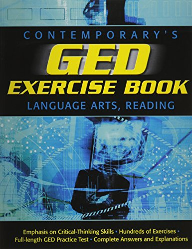 9780809222360: GED Exercise Book: Language Arts, Reading (GED Calculators)