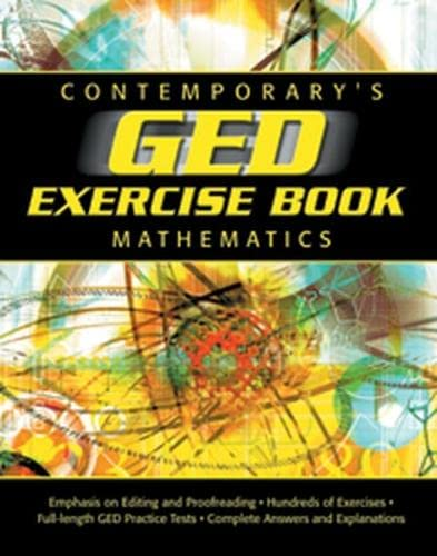 9780809222377: GED Exercise Book: Mathematics (GED Calculators)