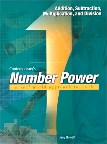 Number Power 1: Addition, Subtraction, Multiplication, and Division (0809223805) by Contemporary
