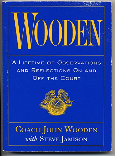 9780809228690: Wooden: A Lifetime of Observations and Reflections on and Off the Court