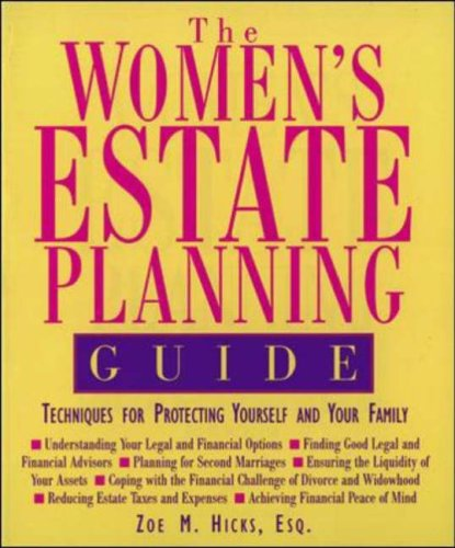 9780809230662: The Women's Estate Planning Guide